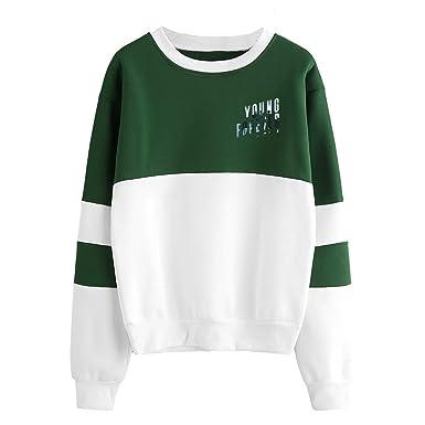 BTS Sudaderas Cuello Redondo Suéter Manga Larga Ocasionales Sweater Tops Cómodo Jerseys Deportivo Camisetas Estampados para Mujeres y Hombres: Amazon.es: ...