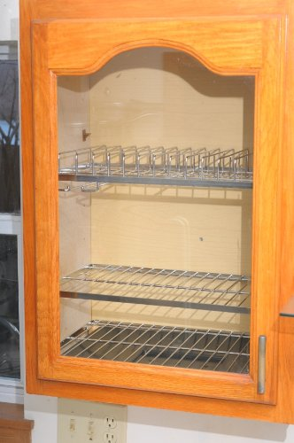 Amazon Com Zojila Cabana Cabinet Plate And Utensil Racks Polished