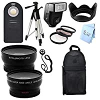 Ultimate PLUS Accessory Package for Nikon D80 and D90 Digital SLR Cameras (67mm)