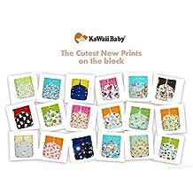 SALE! 18 KaWaii Baby Printed Snap One Size Pocket Cloth Diaper Shells (8-36 lbs)