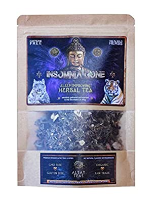 """Insomnia Gone"" Herbal Wellness Tea - Organic, Wild gathered - Loose leaf"