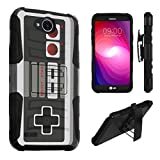 LG X Power 2 Case, LG Fiesta Case, LG X Charge Case, DuroCase Dual Layer Kickstand Case Holster for LG X Power 2 / Fiesta LTE / X Charge / K10 Power / LV7 – (Game Controller) Review