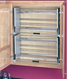 Amazon.com: Rev-A-Shelf - 5PD-36CRN - Large Wall Cabinet Pull-Down ...