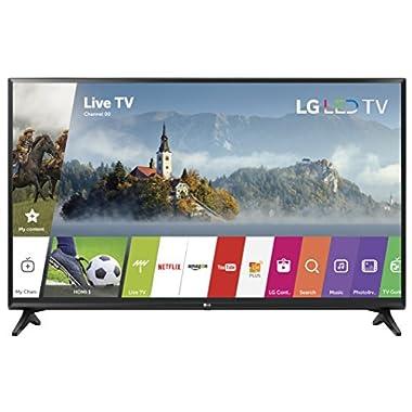 LG Electronics 49LJ5500 49-Inch 1080p Smart LED TV (2017 Model)