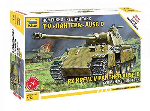 Zvezda Models Pz.Kpfw.V Panther Ausf.D Model Kit