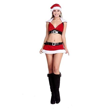 CVCCV Nuevo Traje Sexy de Navidad Mujer Adulta Cosplay ...
