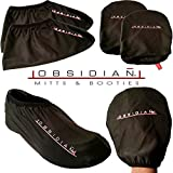 Obsidian Slide Board - 6' Foot Slide Board for High Intensity and Low Impact Exercise   Includes Booties and Mitts