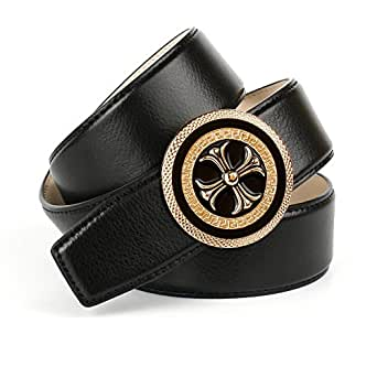 Anthoni Crown A4BKT10, Cinturón para Mujer, Negro (Schwarz 010), 85