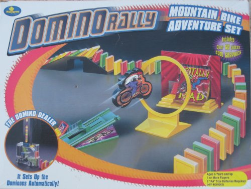 Domino Rally Bike Adventure Set