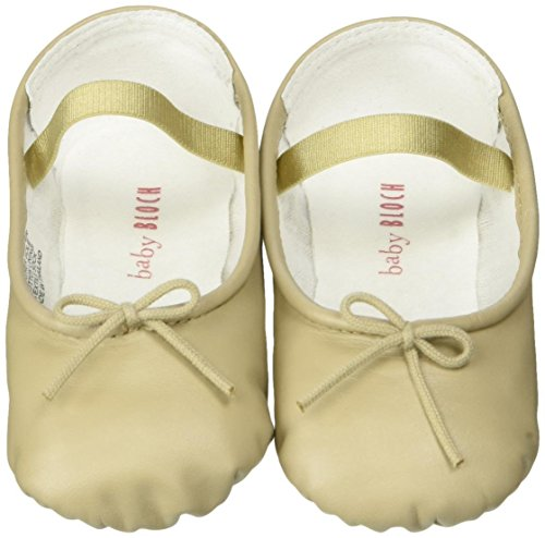 Bloch Shoe Baby Arabella Flat, Warm Sand, 5 M US Toddler (Bloch Infant Shoes)