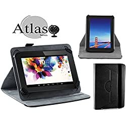 "Navitech Black 360 Rotational Case Cover For Fire Tablet with Alexa, 7"" Display, 8 GB, Black, Blue, Magenta, Tangerine"