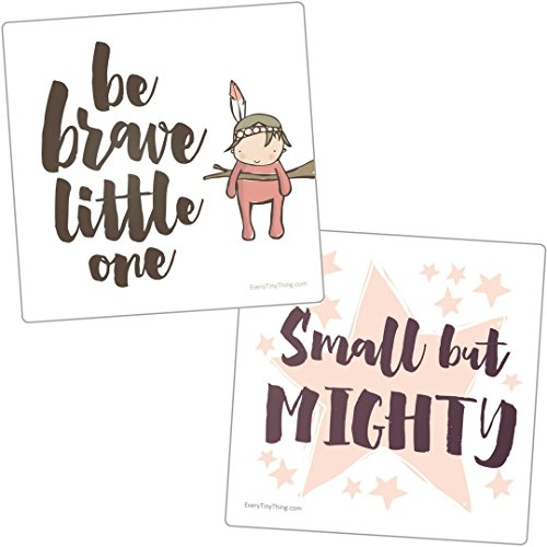 NICU Crib Art from Every Tiny Thing - Decorate Your Babys NICU Space with Adorable Prints - Brave Girls