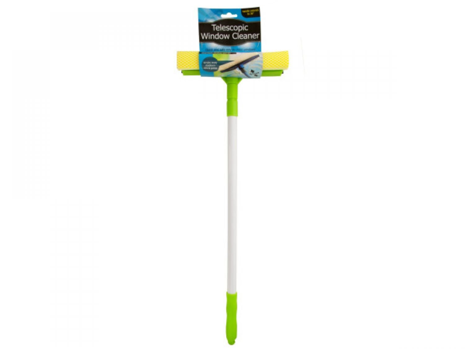 bulk buys Telescopic Window Cleaner - Set of 12, [Household Supplies, Window Squeegees]