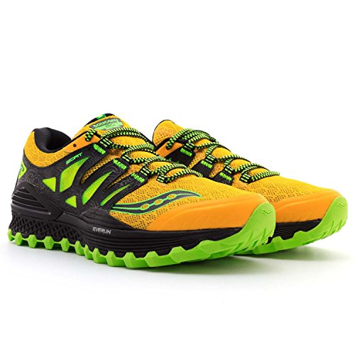 Saucony 20325-2, Zapatillas de Trail Running Unisex Adulto amarillo