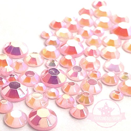 Pink Acrylic Rhinestone - 2