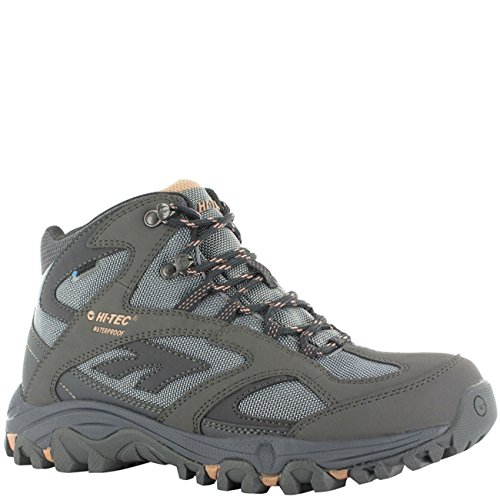Hi-Tec Womens Lima Sport WP Steel Grey/Blue/Syrup Boot