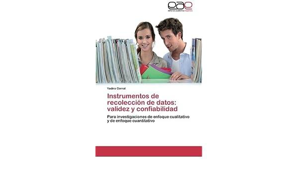 INSTRUMENTOS DE RECOLECCION DE DATOS (Spanish Edition)