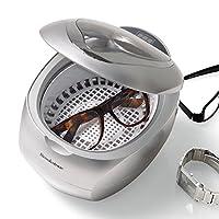Limpiador ultrasónico de Brookstone y limpiador de DVD