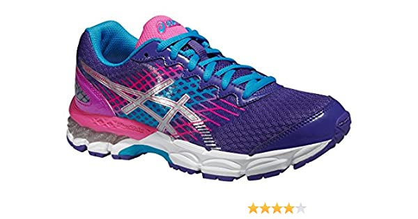 Junior Zapatillass GEL-NIMBUS 17 GS BLUEBERRY / SILVER / PINK GLOW 15/16 Asics 3,5 (US) BLUEBERRY / SILVER / PINK GLOW: Amazon.es: Zapatos y complementos