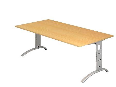 Dr de oficina escritorio altura regulable hasta 85 cm - 200 x 100 ...