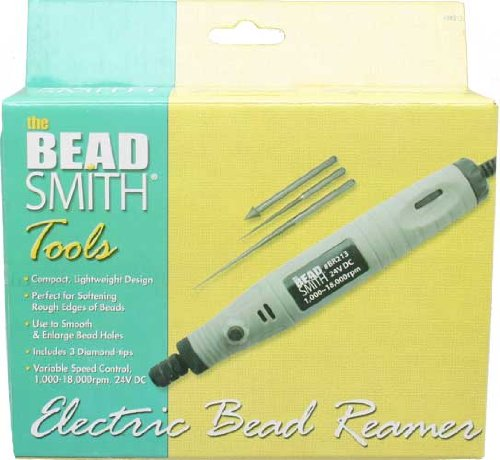Bead Reamer, Electric, 3 Tips (24V, 1,000-18,000rpm) - BR213 by Beadsmith