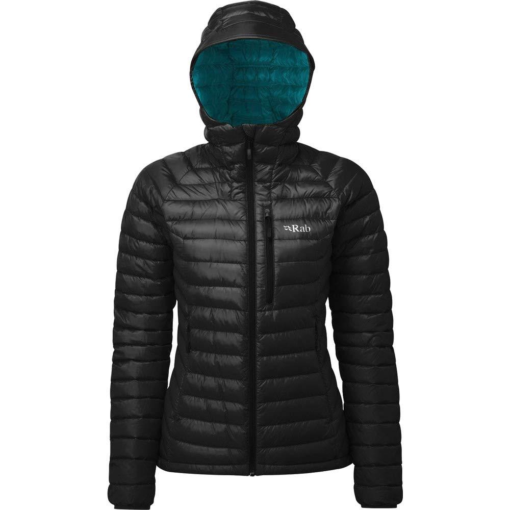 RAB Microlight Alpine Jacket damen Eggplant Rococco 2018 Funktionsjacke