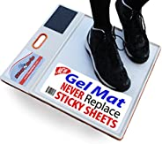 StepNGrip Courtside Shoe Grip Traction Mat - Newest Sticky Mat - Never Needs Replacement Sheets, Allows Court