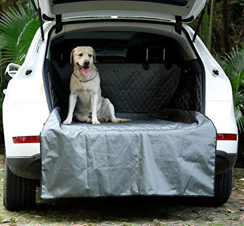 (UsefulThingy Cargo Liner Car Trunk Cover for SUV Honda Jeep Toyota Nissan Ford Chevy Subaru Kia - Floor Mat, Premium Waterproof Material, 2 Colors (Grey))