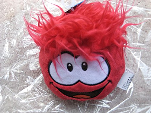 Disney Club Penguin: 4'' Red Pet Puffle -- Series #3 (Puffle Pet Series)