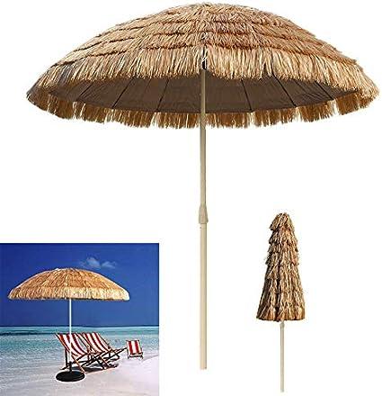 Hawaii Parapluie franges Parasol multicolores Slogan Fête Hawaii Party Beach Été Neuf