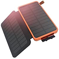 Solar Charger, Hiluckey Portable Solar P...