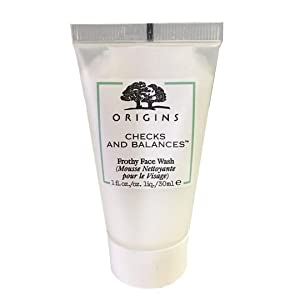 Origins Checks and Balances Frothy Face Wash 1 Oz./ 30 ml - Travel size