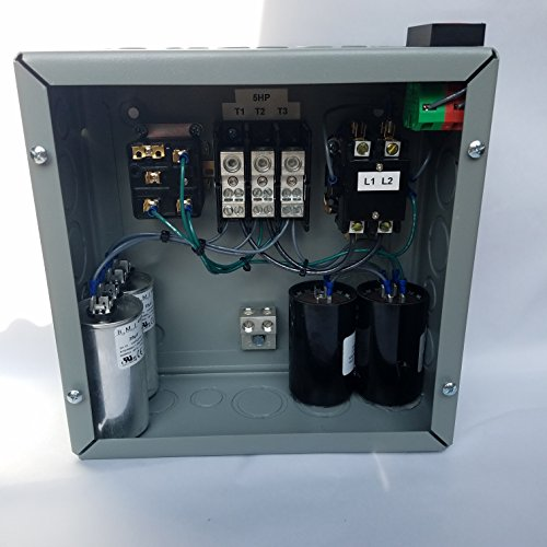 3hp 3 Phase Rotary Converter Panel For Sale