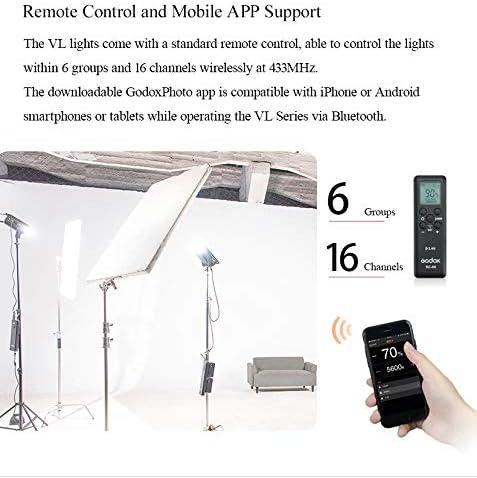 Camera & Photo Accessories Godox VL150 COB-Licht CRI 96 + TLCL 95 ...