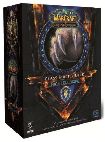 World of Warcraft TCG WoW Trading Card Game 2011 Class Starter Deck Alliance Night Elf Druid ()