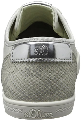 para Zapatillas Oliver 210 Lt s 23631 Grey Gris Mujer qfRSS1zwt