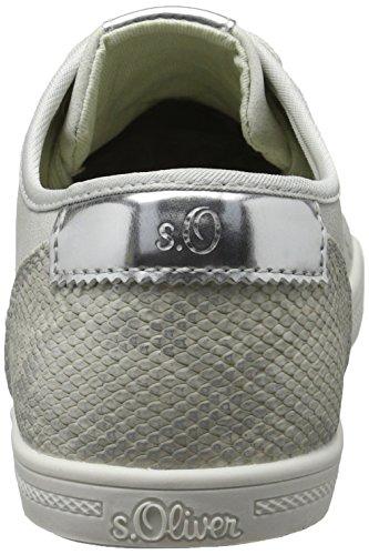 Grey Ginnastica Scarpe Grigio lt Da Basse 23631 210 oliver S Donna wPxIzU