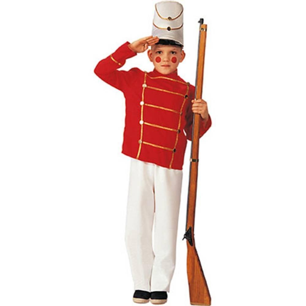 sc 1 st  Amazon.com & Amazon.com: Deluxe Toy Soldier Child Costume - Small: Toys u0026 Games