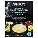 Ainsley Harriot Thai Chicken Cup Soup - 69g (0.15lbs)