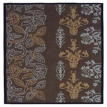 UPC 753793846101, Linon Rugs Trio Chocolate Rug 5' x 7'