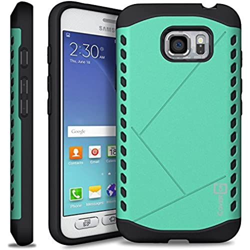 Galaxy S7 Active Case, CoverON [Paladin Series] Slim Fit Hard Protective Modern Style Phone Case for Samsung Galaxy S7 Active - Mint Teal Sales