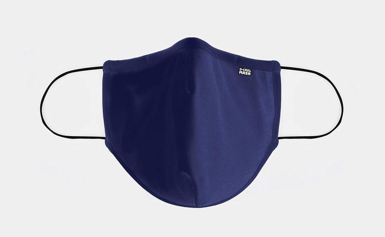 Mascarilla Higienica Lavable y Reutilizable fabricada en Portugal con filtro incorporado + 30 lavados. Tejido suave y ajustable a nariz y boca. Talla adulto unisex. Color Azul Marino. 1 unidad