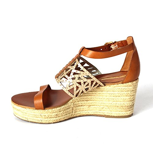 BCB Generation wedge Sandalen, Größe 152, RRP £ 3,5 Toffee-Gold