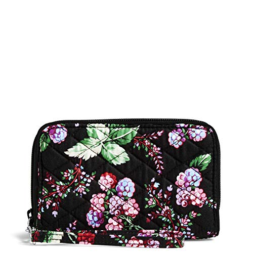Vera Bradley RFID Grab & Go Wristlet-Signature, winter berry (Berry Handbags For Women)
