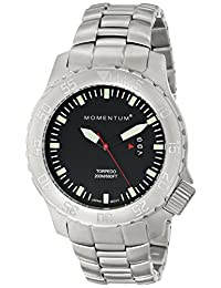 Momentum 1M-DV74B0 Men's Torpedo Sport Wrist Watches, Black