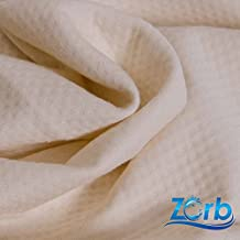 Pre-Activated 3D Zorb Bamboo Dimple Diaper Super Absorbent Fabric (Made in USA, Natural, sold by the yard)