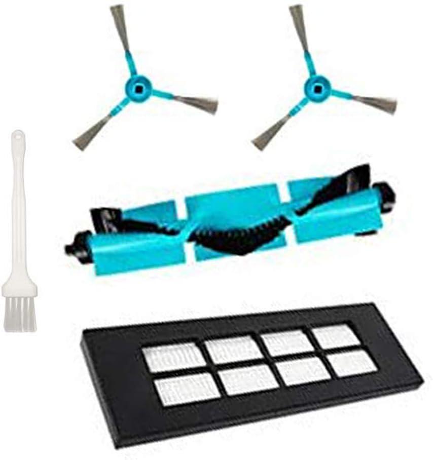 Fantisi Kit de accesorios de limpieza para Congas Serie 3090,Cecotec Consumibles(2 cepillos laterales,1 cepillo central,1 filtro HEPA,1 cepillo de limpieza): Amazon.es: Hogar