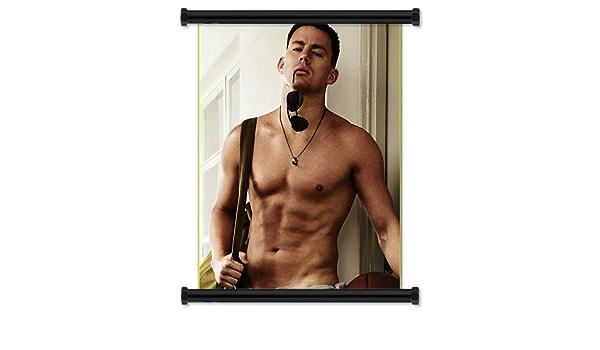 Channing Tatum Sexy tela rollo de pared Poster (40,64 cm X 53 ...