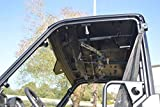 Great Day Polaris Ranger 500/570 Midsize with Pro-Fit Roll Cage 42''-45'' Quick-Draw UTV Overhead Bow Rack QD860-OBR