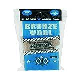 HOMAX PRODUCTS 123101 Bronze Medium Wool Pad, 3-Pack